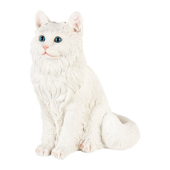 Cat Money Box - White