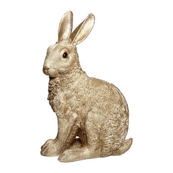 Rabbit Money Box - Gold