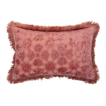 Mahal Velvet Cushion - 25x40cm - City Pink