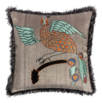 Bird of Paradise Cushion Cover - 40x40cm - Masala