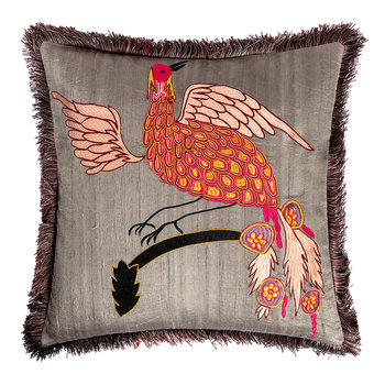 Bird of Paradise Cushion Cover - 40x40cm - Tumberic