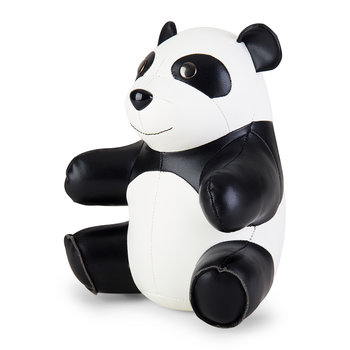 Sitting Panda Bookend - Black/White