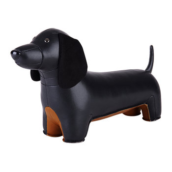 Dachshund Bookend - Black & Tan