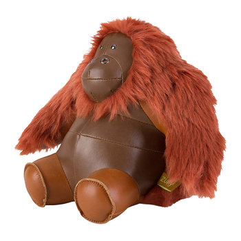Orangutan Bookend - Brown/Tan
