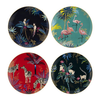 Tahiti Collection Side Plate - Set of 4 - 20cm