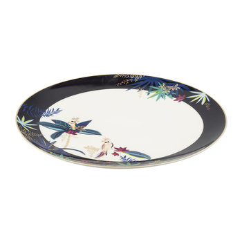 Tahiti Collection Round Platter - Cockatoo