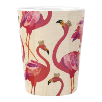 Flamingo Collection Melamine Cup - Set of 4