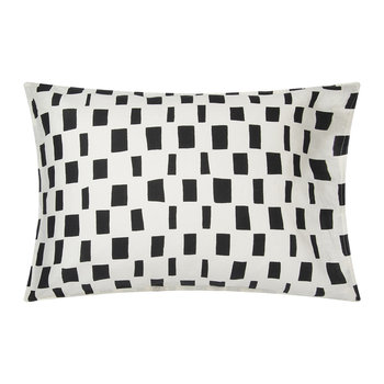 Iso Noppa Pillowcase - Off White/Black - 50x70cm