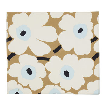 Pieni Unikko Tea Towels - Set of 2 - Beige/Off White/Blue