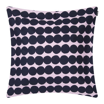 Rasymatto Pillow Cover - Pink/Dark Blue - 50x50cm