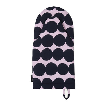 Rasymatto Oven Glove - Pink/Dark Blue