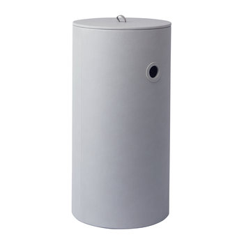 Edris Laundry Basket - Light Grey