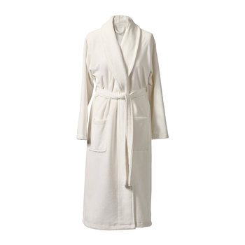 Einar Bathrobe - Ivory
