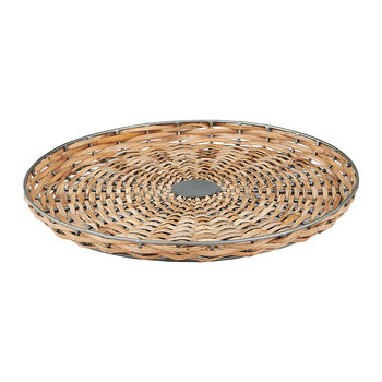 Aluna Cane Tray - Natural
