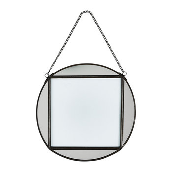 "Teema Round Frame - 8x8"" - Antique Black"