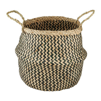 Ekuri Basket - Black/Natural