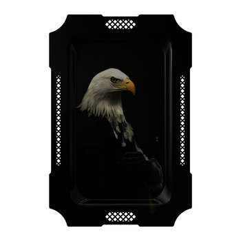 Galerie De Portraits - Large Rectangular Tray - Eagle