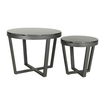 Malaga Coffee Table - Set of 2 - Black