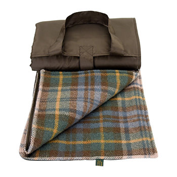 Eventer Pure New Wool Picnic Blanket - Antique Dress Gordon/Brown