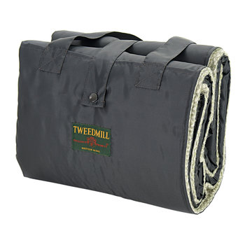 Eventer Pure New Wool Picnic Blanket - Illusion Green/Grey