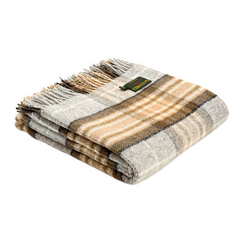 Pure New Wool Tartan Throw - McKellar