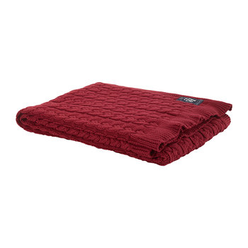 The American Classic Throw - Bordeaux
