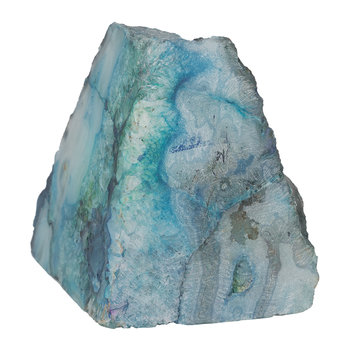 Agate Object - Blue