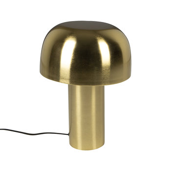 Gold Mushroom Table Lamp - Short