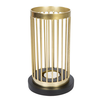 Golden Column Tealight Holder
