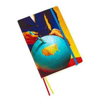 Big Notebook - Globe
