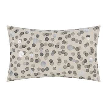 Gray Spotted Pillow - 30x50cm