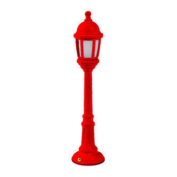 'Blow' Street Lamp - Red