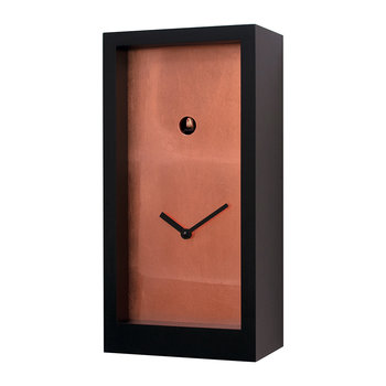 Fort Knox Cuckoo Clock - Black/Copper Leaf