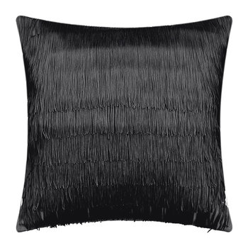 Tassel Cushion - 40x40cm - Black