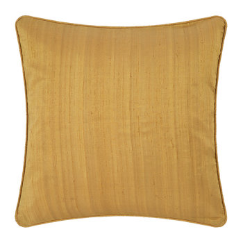Silk Cushion - Gold - 45x45cm