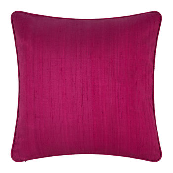 Silk Cushion - Magenta - 45x45cm