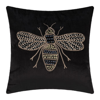 Velvet Animal Pillow - Bee - 40x40cm