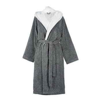 Gray Unisex Bathrobe