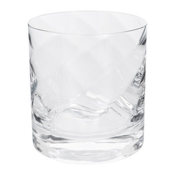 Optic Glass Tumblers - Set of 4