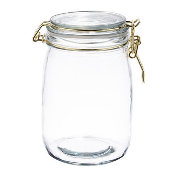 Glass Preserving Jars - Set of 6 - 1L