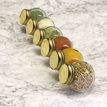 Spice Jars - Set of 6
