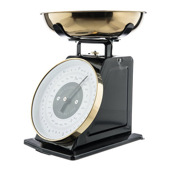 Mechanical Scales - Black & Brass