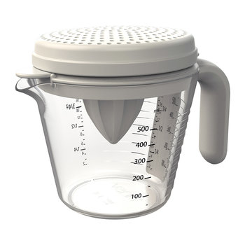 Measuring Jug 4 Piece Set - Grey