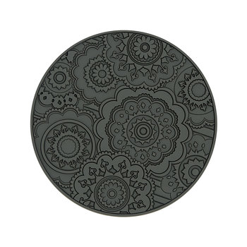 Round Urban 03 Coaster - Set of 6 - Pepper Grey