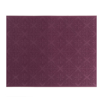 Rectangular Urban 01 Placemat - Prune