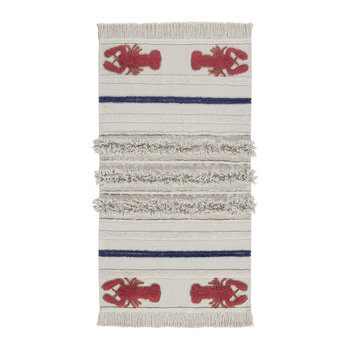 Mini Lobster Washable Rug - 80x140cm