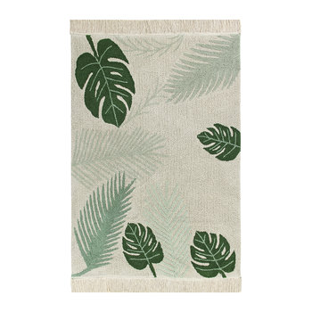 Tropical Rug - Green - 140x200cm