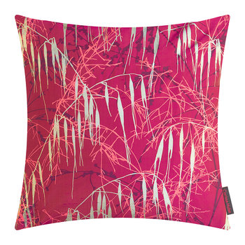 Three Grasses Pillow - 45x45cm - Hot Pink/Fuschia/Gold