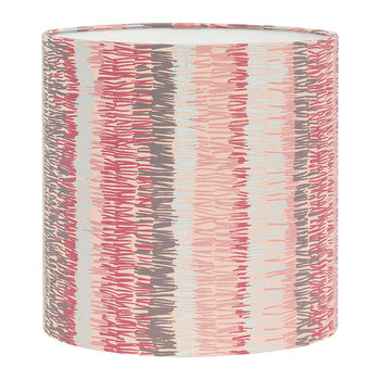 Textured Stripe Lamp Shade - Oyster