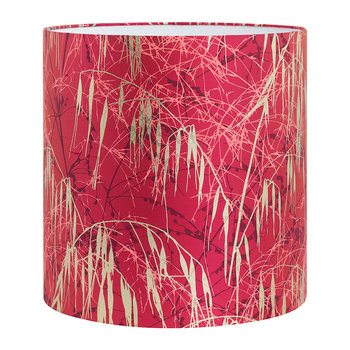 Three Grasses Lamp Shade - Hot Pink/Fuschia/Gold